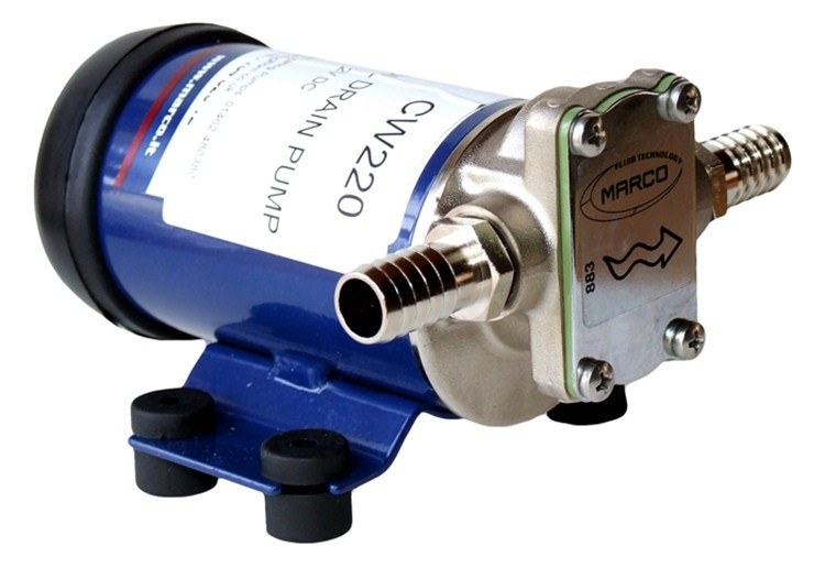Mack engineering jabsco jabsco marine pumps for Outboard motor oil change pump