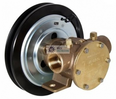 """50080-2201 JABSCO ELECTRIC CLUTCH PUMP 1"""" 12v SINGLE GROOVE 'B' SECTION PULLEY"""