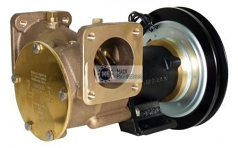 50270-0211 JABSCO ELECTRIC CLUTCH PUMP 12V SINGLE GROOVE 'B' SECTION PULLEY