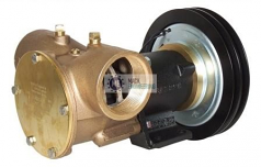 50270-2011 JABSCO ELECTRIC CLUTCH PUMP 12V TWIN GROOVE 'A' SECTION PULLEY
