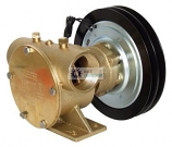 """50200-2011 JABSCO ELECTRIC CLUTCH PUMP 1.1/2"""" 12v TWIN GROOVE 'A' SECTION PULLEY"""