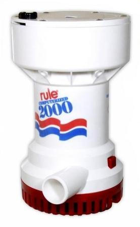 Rule 53S Automatic Bilge Pumps 2000 GPH